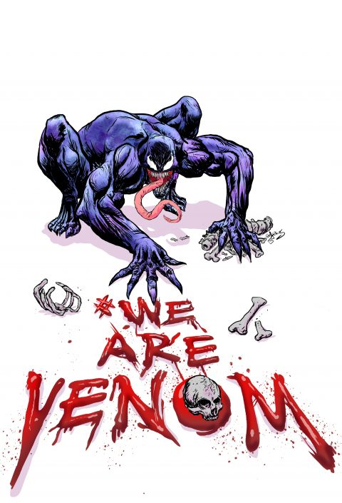 #WE ARE VENOM POSTER