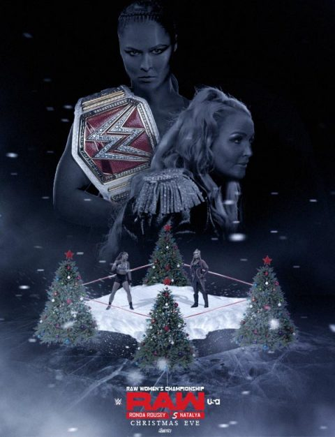 WWE Raw Christmas Eve – Rousey Vs. Natalya