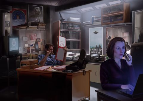 The X-Files 'Paperwork'