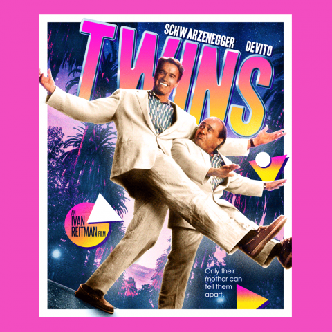 Twins (1988) Blu-ray Cover Art