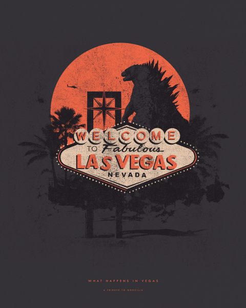 Godzilla – What Happens in Vegas
