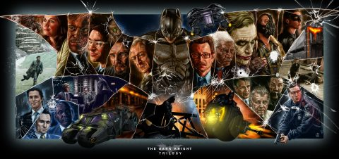 The Dark Knight Trilogy (RE-UPLOAD)