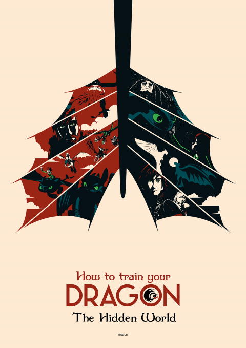 HOW TO TRAIN YOUR DRAGON Poster Art