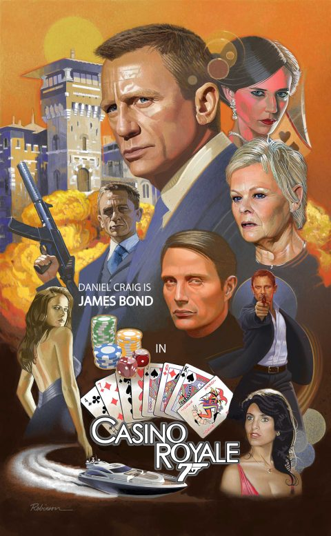 Daniel Craig is James Bond  in Casino Royale