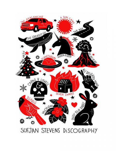 Sufjan Stevens Discography