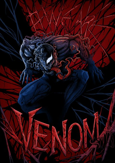 We Are Venom (red)