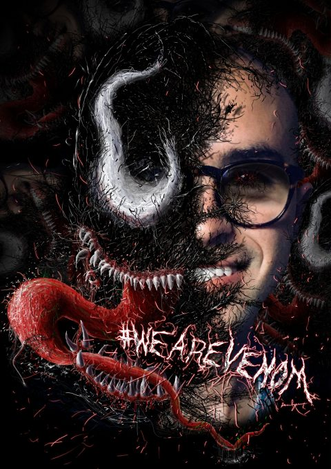 #WEAREVENOM FAN ART BY HANS DAVID REYNOSO