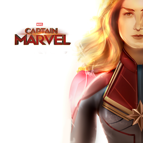 Captain Marvel illustration