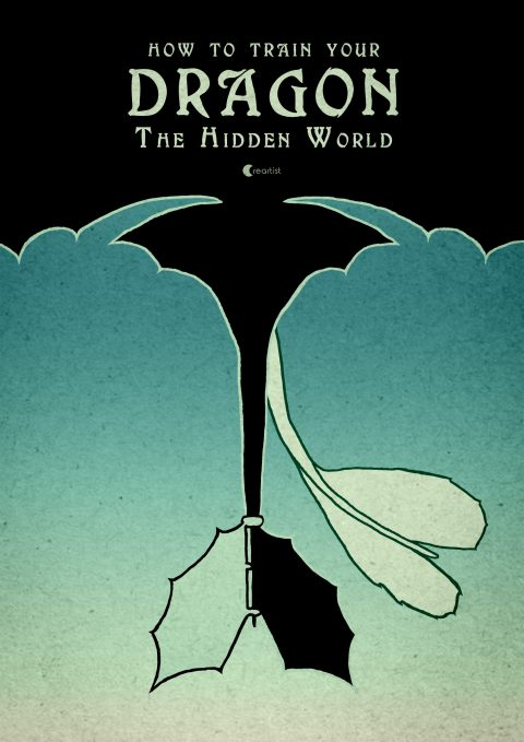 Poster of How to Train Your Dragon The Hidden World v3
