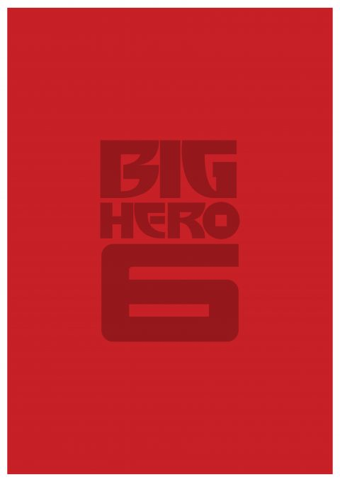 BIG HERO 6 Minimal Movie Poster Design 2