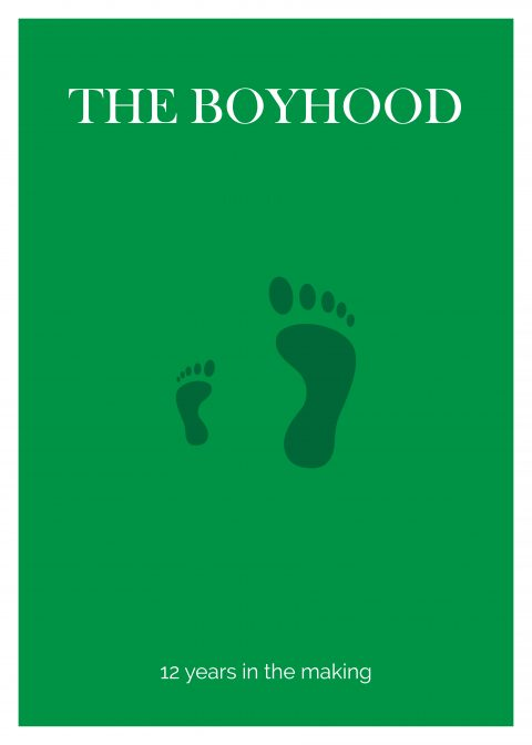 BOYHOOD Minimal Movie Poster Design