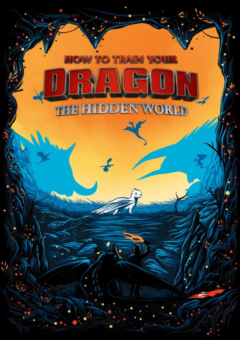 "How To Train Your Dragon 3  ~""The Hidden World"""