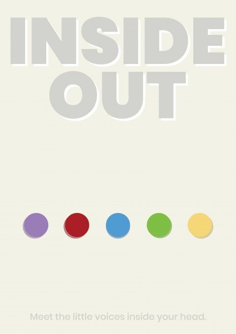 Inside Oust Minimal Movie Poster Design