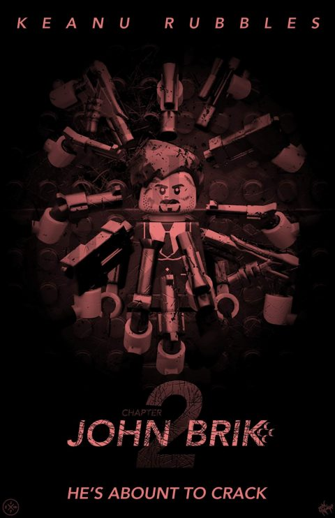 JOHN BRIK CHAPTER 2 MOVIE MASHUP PARODY 3D DESIGN BLOOD FEUD VARIANT