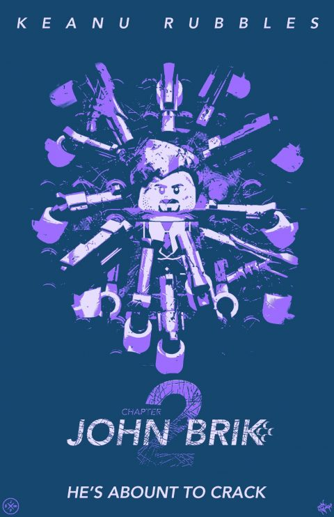 JOHN BRIK CHAPTER 2 MOVIE MASHUP PARODY 3D DESIGN GRAPE SODA VARIANT