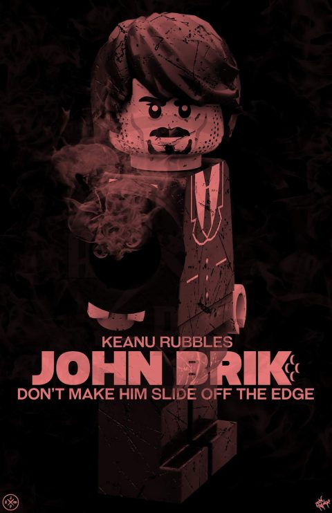 JOHN BRIK MOVIE MASHUP PARODY 3D DESIGN BLOOD FEUD VARIANT