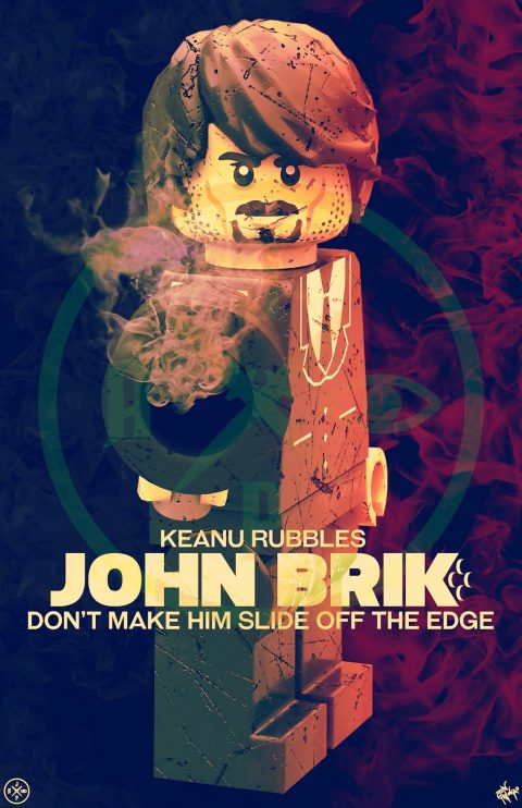 JOHN BRIK MOVIE MASHUP PARODY 3D DESIGN SUNSET VARIANT
