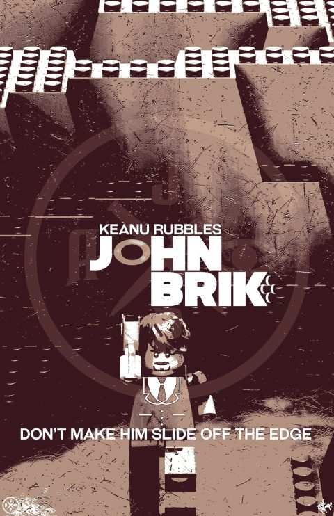 JOHN BRIK MOVIE MASHUP PARODY 3D DESIGN COFFEE VARIANT