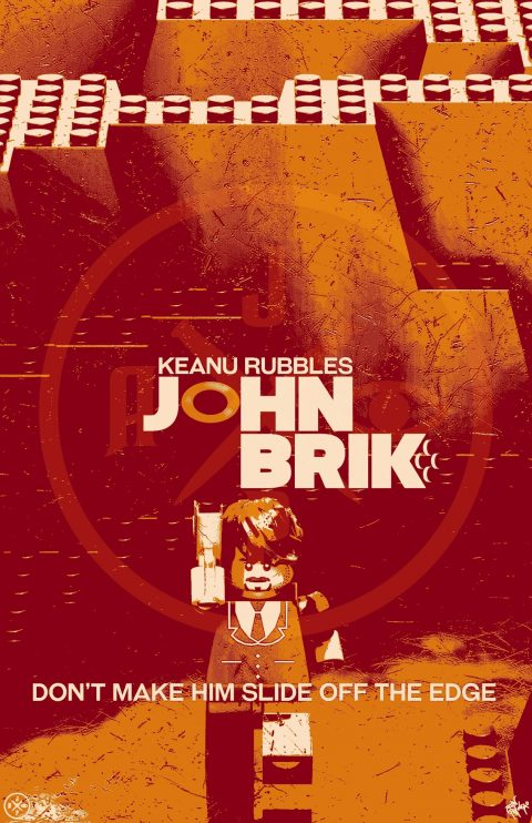 JOHN BRIK MOVIE MASHUP PARODY 3D DESIGN LAVA VARIANT