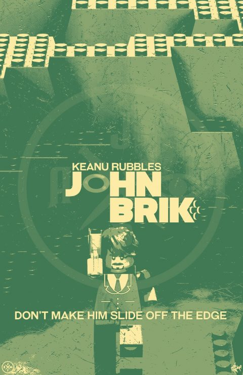 JOHN BRIK MOVIE MASHUP PARODY 3D DESIGN OLIVE DRAB VARIANT