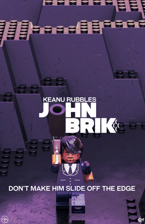 JOHN BRIK MOVIE MASHUP PARODY PURPLE SUNSET VARIANT