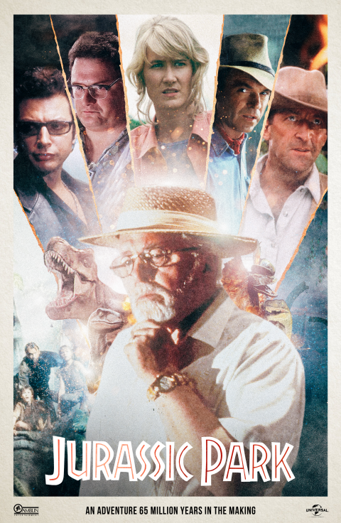 Jurassic Park – Alternate Movie Poster