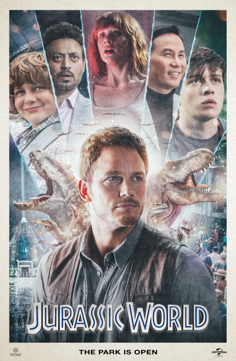 Jurassic World  – Alternate Movie Poster