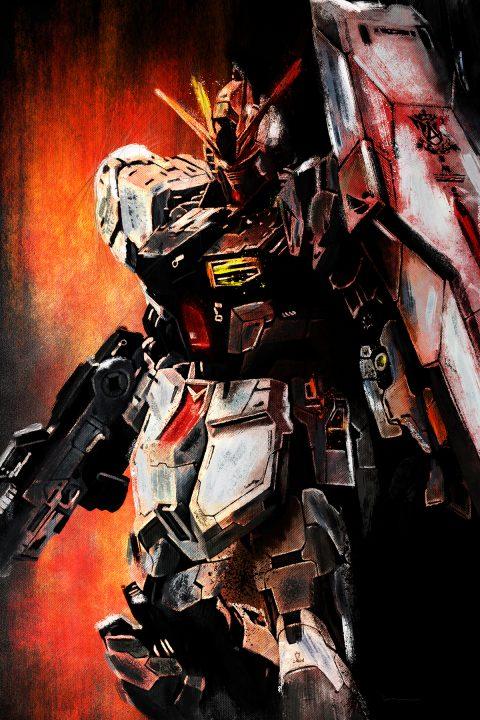 RX-93 (Nu) Gundam Portrait