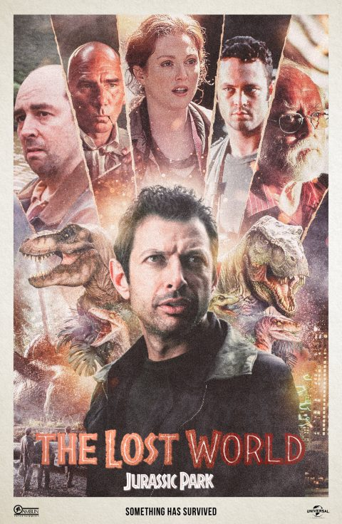 The Lost World Jurassic Park – Alternate Movie Poster