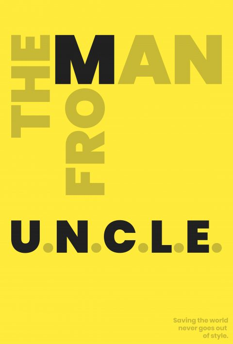 THE MAN FROM U.N.C.L.E Minimal Movie  Poster