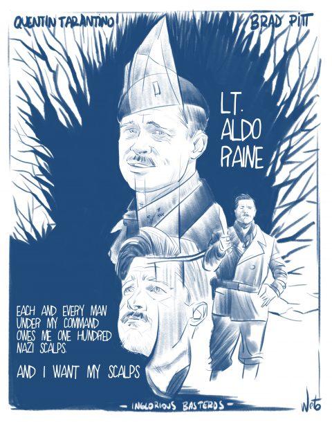 Inglorious Basterds_Lt. Aldo Raine Study