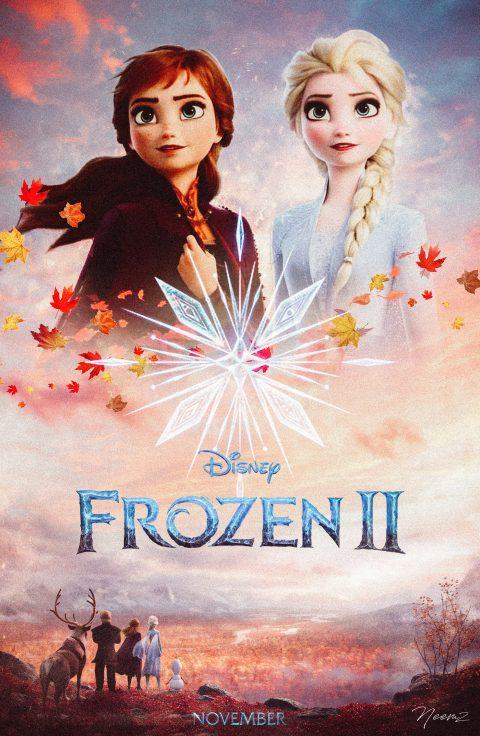 Frozen 2 Fan Poster by Nima Nakhshab