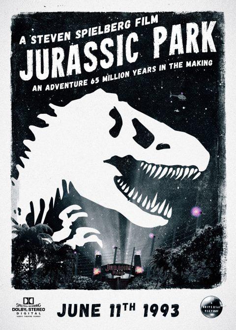 Classic Jurassic Alternate Movie Poster