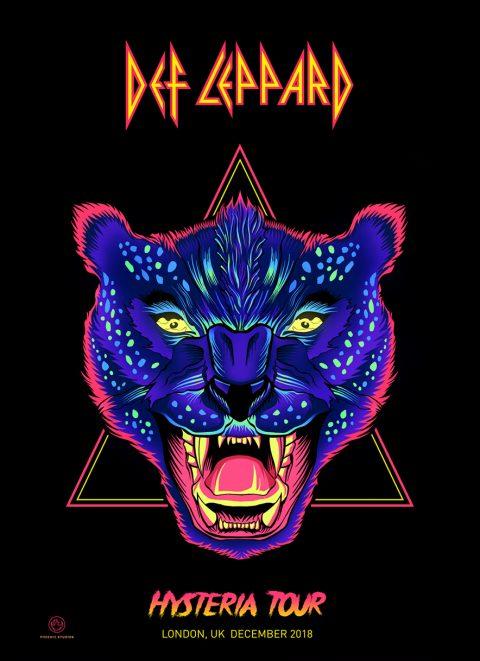 Def Leppard – Hysteria Tour 2019