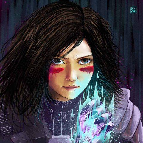 Alita- Battle Angel.