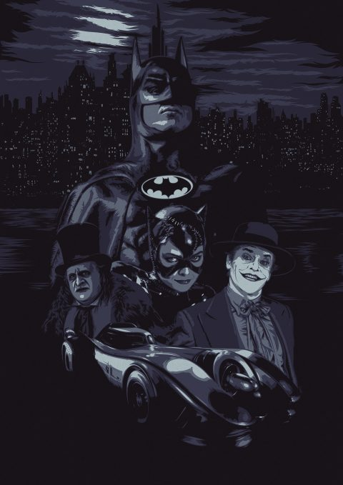 Batman (Tim Burton Compo)