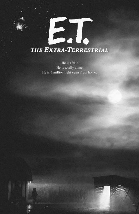 E.T. – Extra-Terrestrial (1982) Alternate Movie Poster by Nima Nakhshab