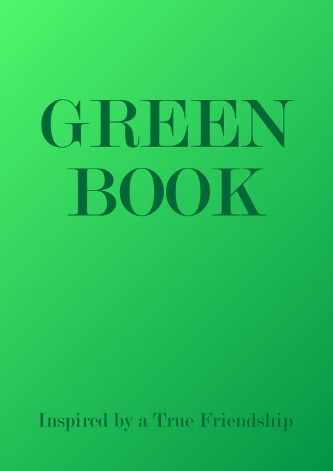 GREEN BOOK Minimal Movie Poster