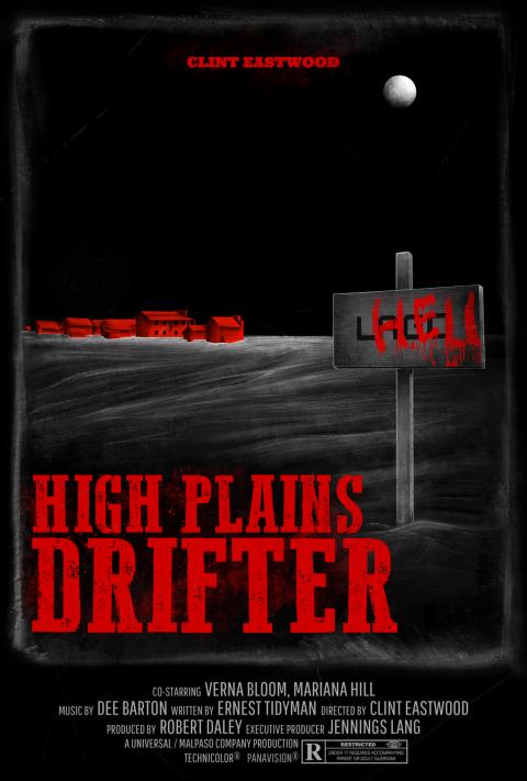 HIGH PLAINS DRIFTER Poster