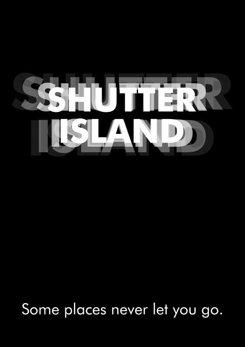 SHUTTER ISLAND Minimal Movie Poster
