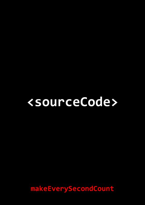 sourceCode Minimal Movie Poster