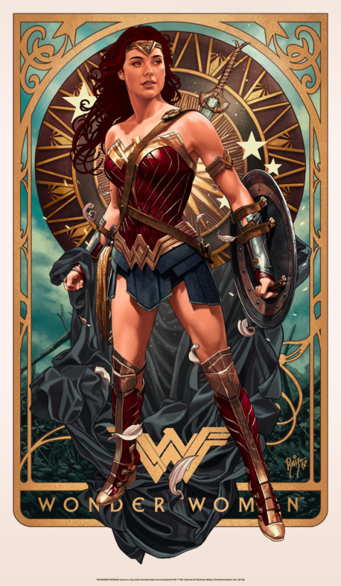 WONDER WOMAN – BOTTLENECK GALLERY