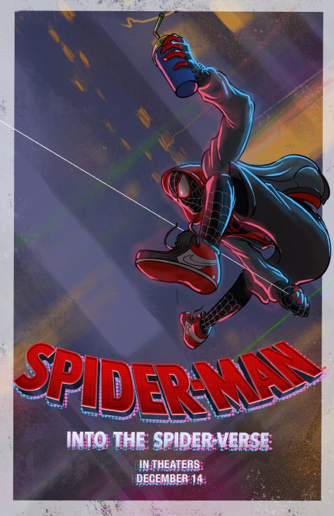 Spider-man: Into the Spider-verse 01