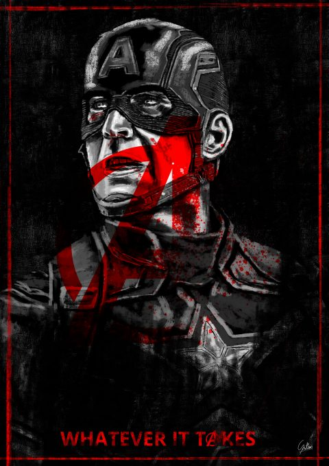 Endgame Art – Captain America