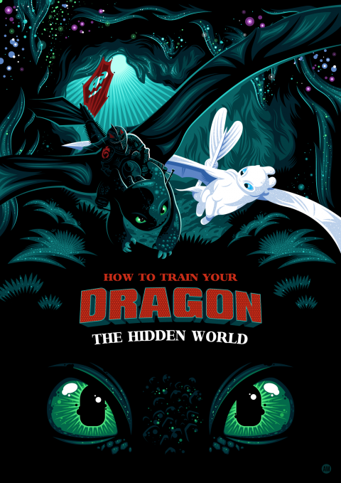 How To Train Your Dragon-The Hidden World