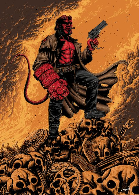 Official Hellboy Poster