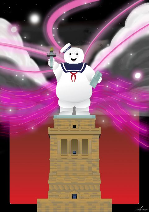 Statue of Stay Puft – Angry – Variant