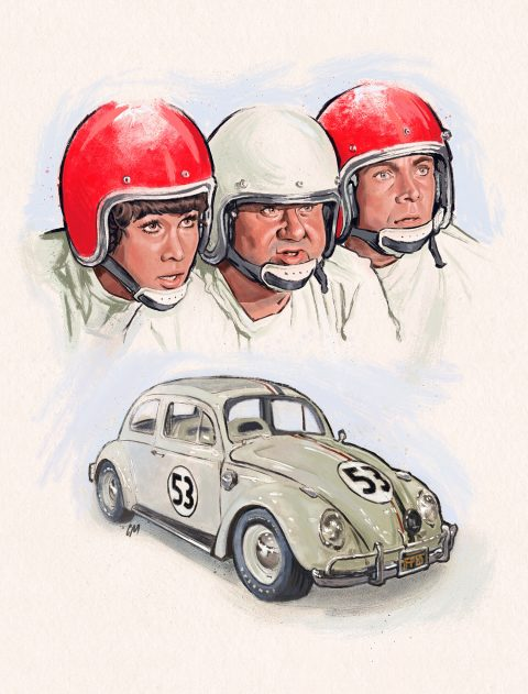 The Love Bug illustration