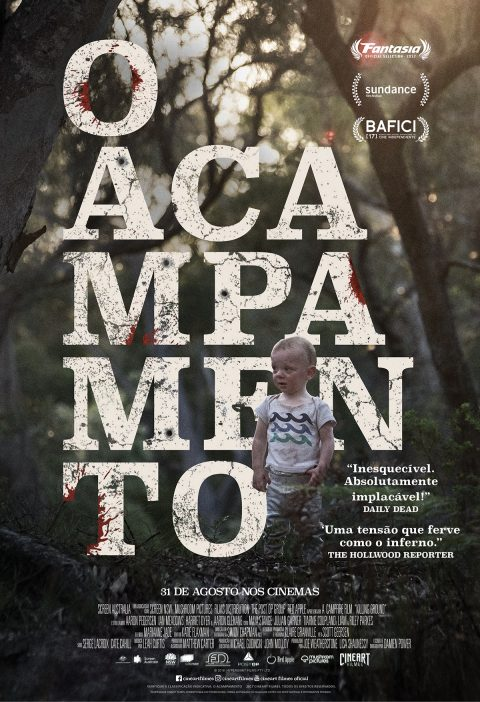 O Acampamento – Killing Ground Brazilian release