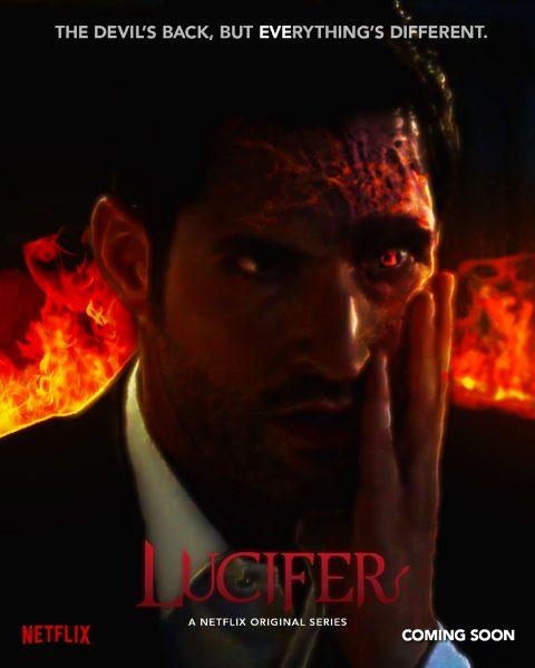 Lucifer Netflix Poster